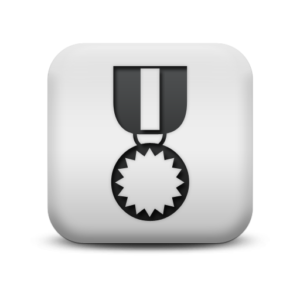 125906-matte-white-square-icon-sports-hobbies-medal